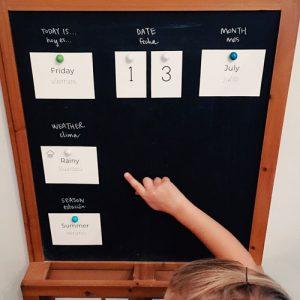 Bilingual Daily Calendar