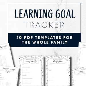 Learning goal tracker