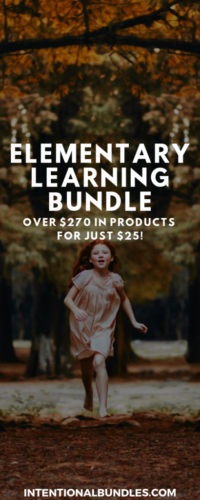Elementary Learning Bundle - over $270 in elementary resources for just $25